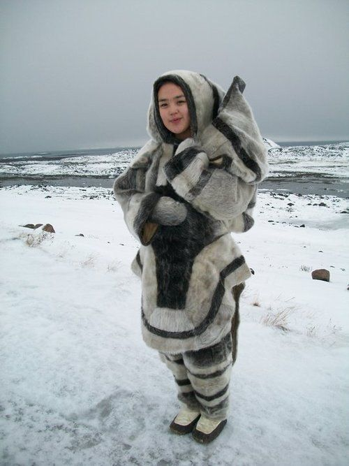 Ready for the cold. Inuit fashion. | Global Garb ...