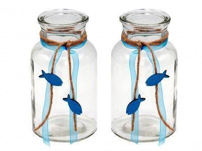 Servietten Kommunion Konfirmation Fisch Petrol Blau