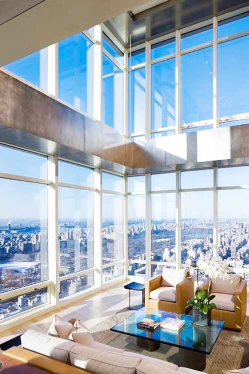 Incredible Duplex On Top Of Bloomberg Tower, NYC