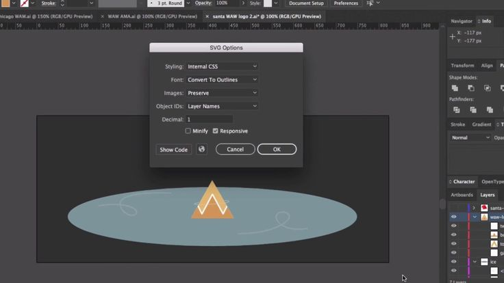 Exporting SVGs from Illustrator for animation
