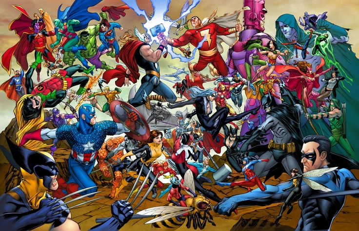 Marvel and DC Facts #marvel #dc https://fanboy4life.com/?p=3090