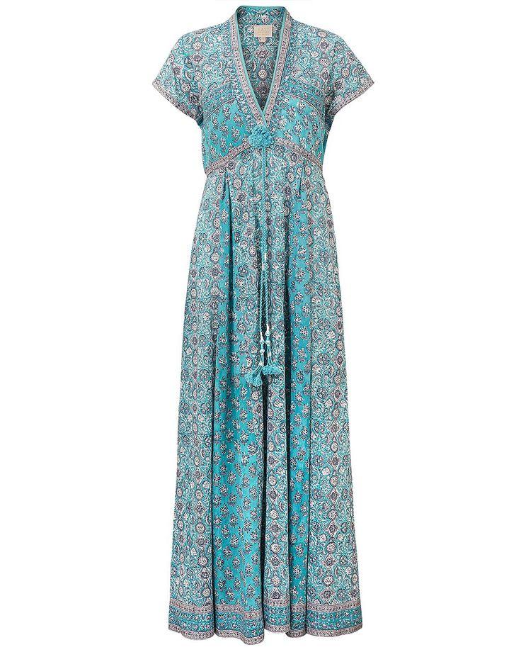 Anokhi Yasmin Print Maxi Dress