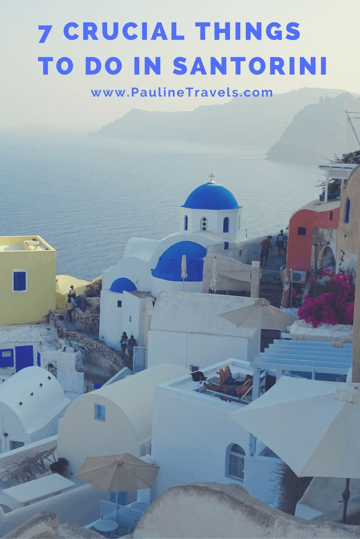 7 Crucial Things to do in Santorini when having 48 hours -The best taste of the island. The best start of exploring Santorini Island is by doing Fira to Oía Walk. Then another with taking Extensive pictures of Oía. For dinner  Aegeon dinning with a view of Imerovigli. The next day  Rent an ATW and be careful driving –  Red Beach, Kamari Beach, Mesa Gonia, Exa Gonia, Santo Vinery and Sunset view. Of course Santo Winery with Sunset View.