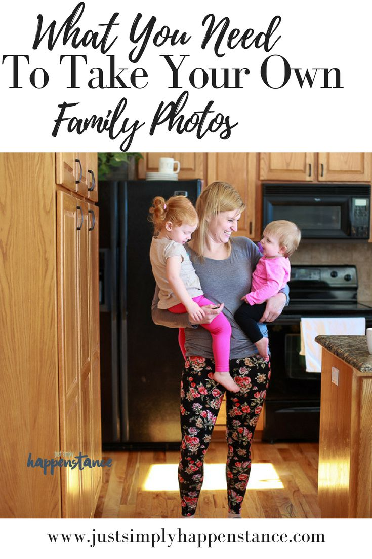 Taking Your Own Family Photos | Equipment You Need | Just Simply Happenstance