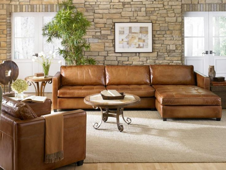 Light Brown Leather Sectional Area Rugs In Living Room With Sectional In 2020 Sectional Sofa With Chaise Living Room Decor Brown Couch Modern Leather Sectional Sofas
