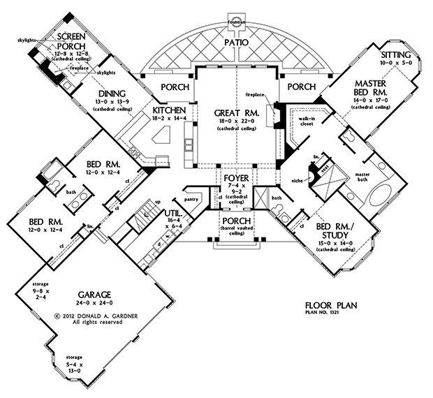 139 best House Plans images on Pinterest | Dream house plans ...