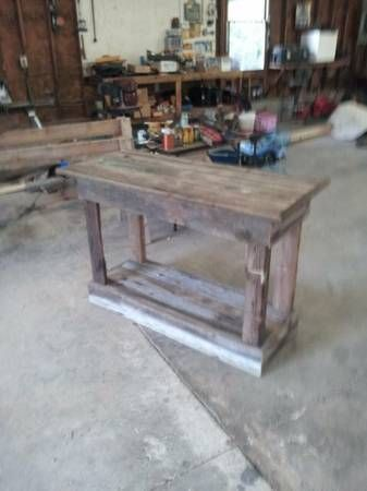 Tables Made Out Of Old Barn Wood
