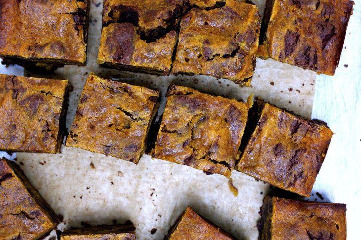 Pumpkin-Swirl Brownies III Recipe | recipes - treats to try | Pintere ...