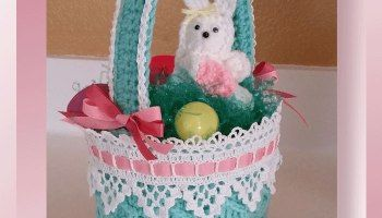 Honeycomb Easter Basket (CAL)