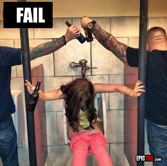Question Drunk girl poop fail sorry, that