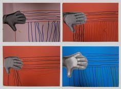 LA CLASE DE MIREN: mis experiencias en el aula: TALLER DE GRAFISMO: TRAZO VERTICAL Y HORIZONTAL