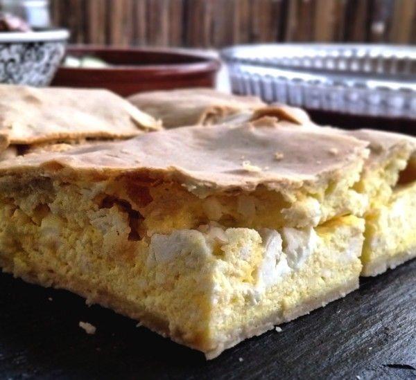 Placinta de Roumanie, très simple feuilleté au fromage
