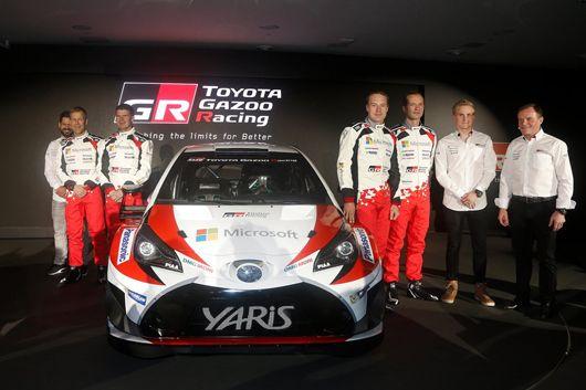 トヨタ、カーナンバー10&11でWRC復帰戦へ挑む  [F1 / Formula 1]
