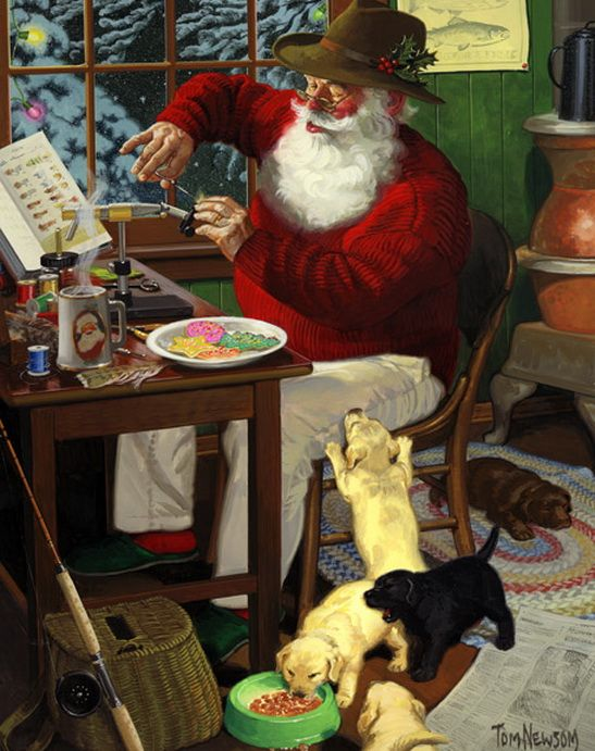 ...Santa... By Tom Newsom