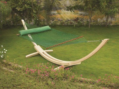 Hangit Polyester Green Rope Outdoor Hammocks furniture for Garden (55.00 IN) Hangit http://www.amazon.in/dp/B00QYSGZ5G/ref=cm_sw_r_pi_dp_K20Svb1SF3NV6