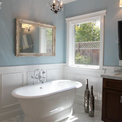 Wainscoting For Bathroom Decorating Ideas Pinterest