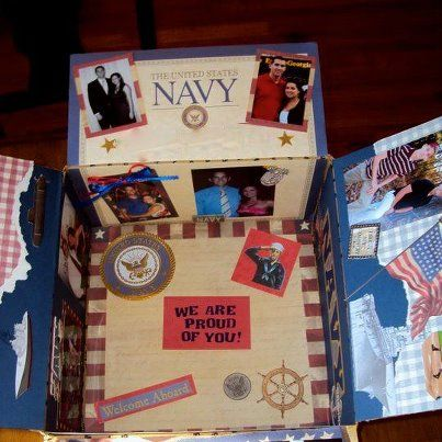 Great care package ideas for service members #navy