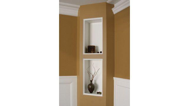 "Drywall art"" can be created using Trim-Tex's vinyl corner beads"