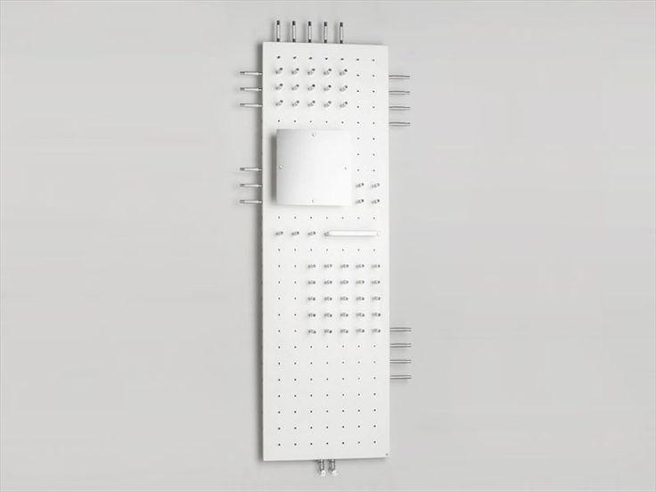 Steel panel radiator ALLDAY by BRANDONI | design Nisi Magnoni