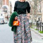 Парижанка в Dior. Уличная мода Парижа в 2014