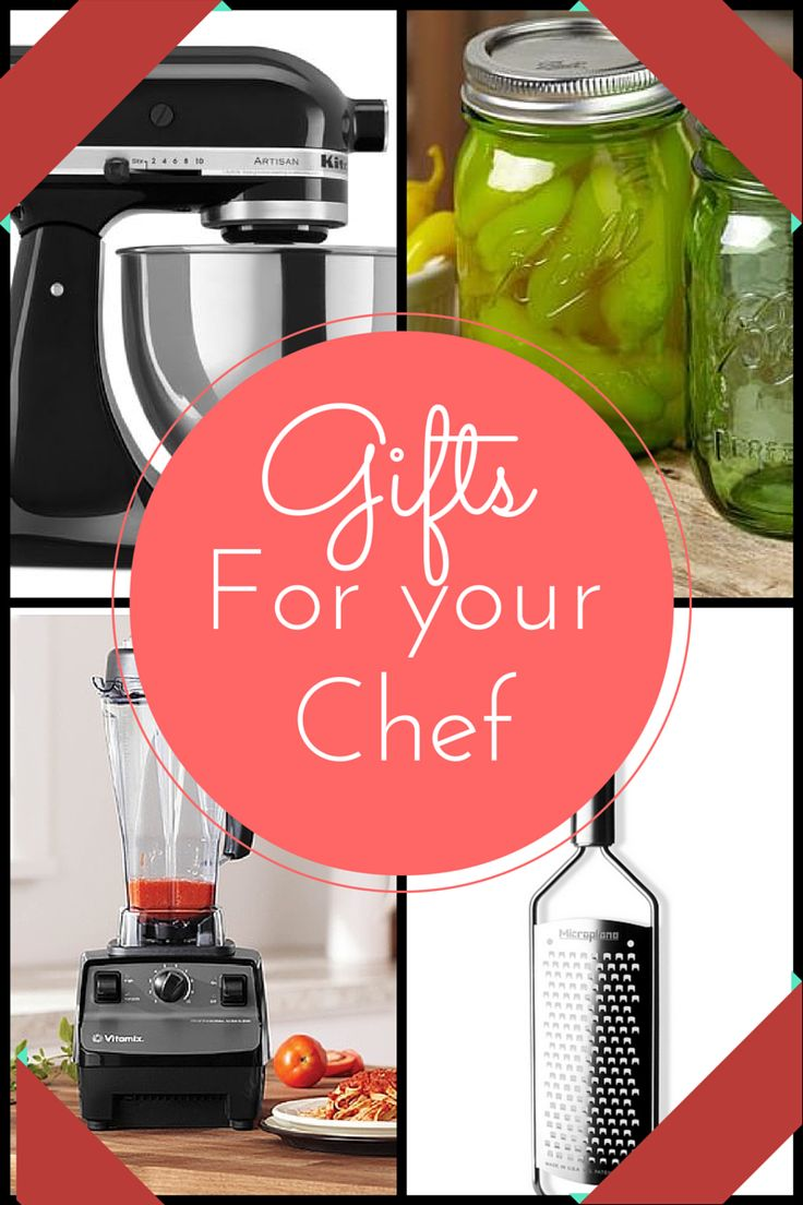 Looking for the perfect gift for the #chef in your life? Here s a great list! Gifts for your ...