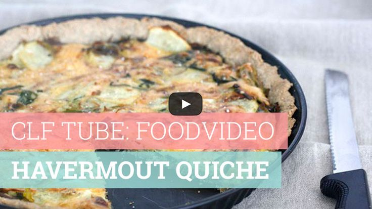 Foodvideo: Havermout quiche