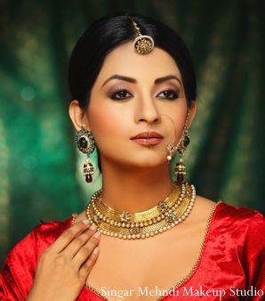 indian wedding bridal jewelry colorful http://maharaniweddings.com/gallery/photo/4492