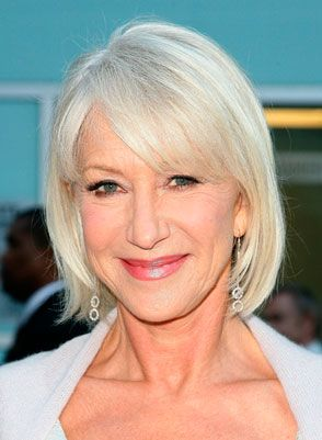 hair styles for bangs helen mirren my next style style helen mirren hair 4327 | d48e170074ee4327b633473db907931e shorter hair styles grey hair