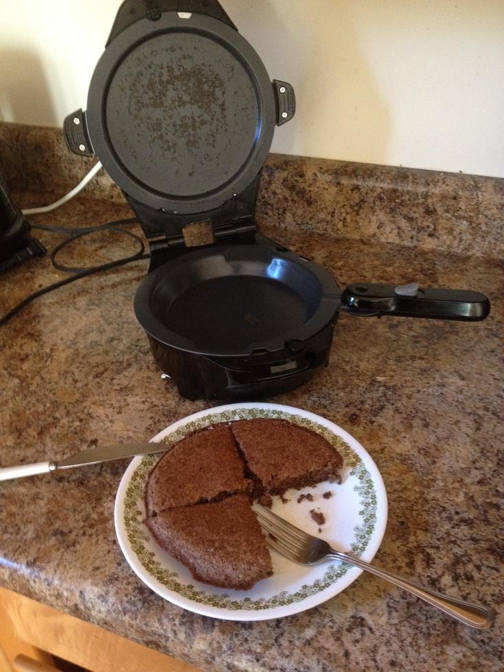 Angel Food Cake In Waffle Maker