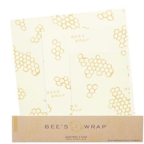 Wrap din mad med Bees wrap ® - et naturligt, bæredygtigt og sundt alternativ til plastfolie, plastik og alufolie. Genialt til brød, grøntsager mv.