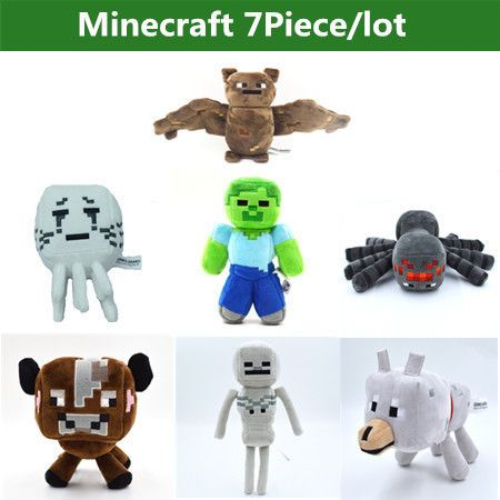 Minecraft Dog Plush For Sale