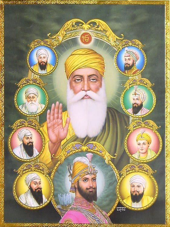 The Ten Guru's of Sikhism