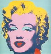 07 Marilyn, Andy Warhol, 1967. Últimas tendencias, Pop Art. Arte popular cercano a la mayoría a través de representaciones de marcas y celebridades del momento y poner en tela de juicio la nueva sociedad de consumo. Me gusta todo el arte que desarrolla Warhol y en este caso, da muestra de su arte para dar vida a la fallecida Marilyn con un rostro que solo él  podía conseguir.