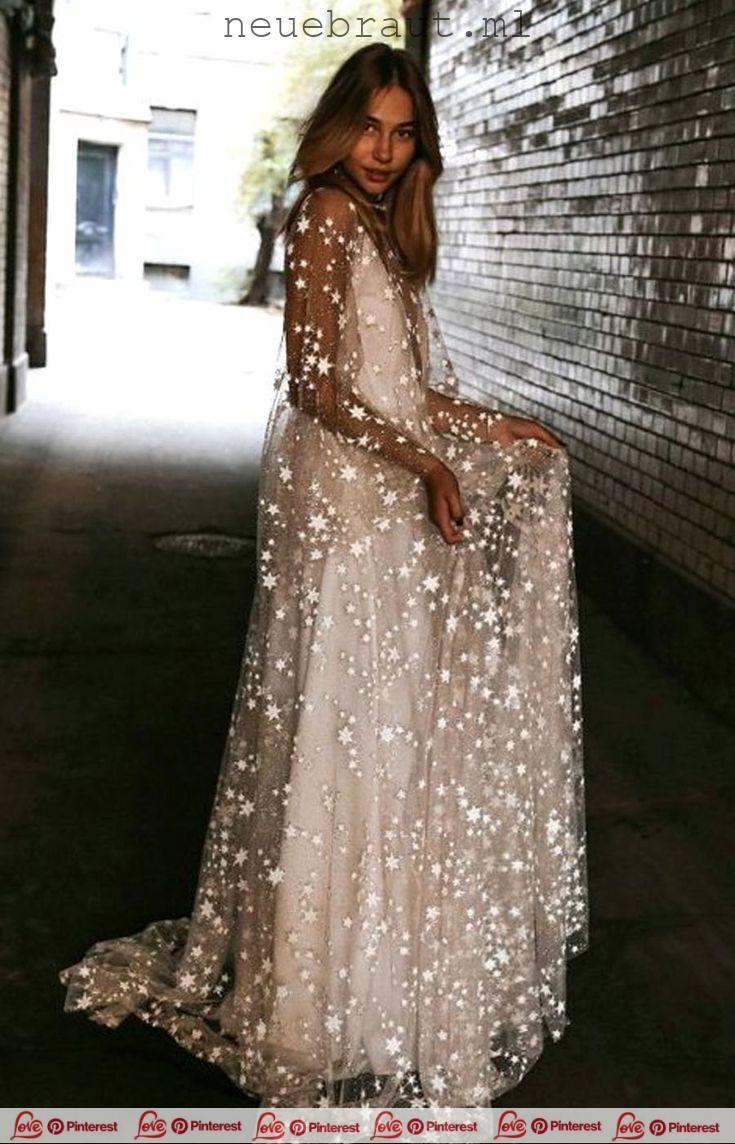 Counting Stars Bohemian Wedding Dress Dieses einzi…
