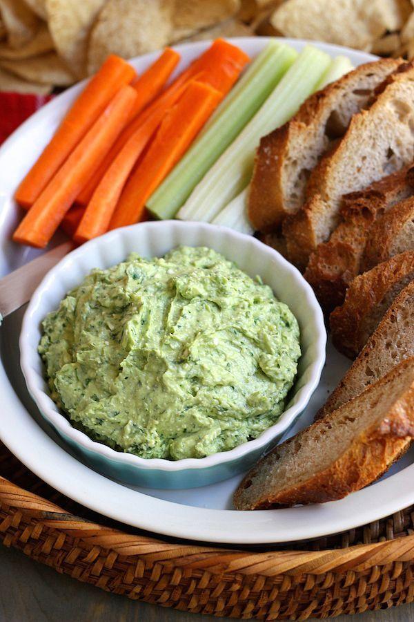 Avocado Feta Dip - Green Valley Kitchen