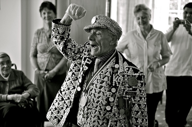 George Major, The Pearly King of Peckham