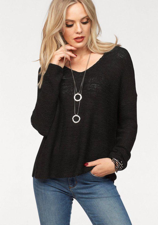 Only V-Ausschnitt-Pullover »GABBI«   Strickmode   Pinterest   Pullover 942a6fb17a