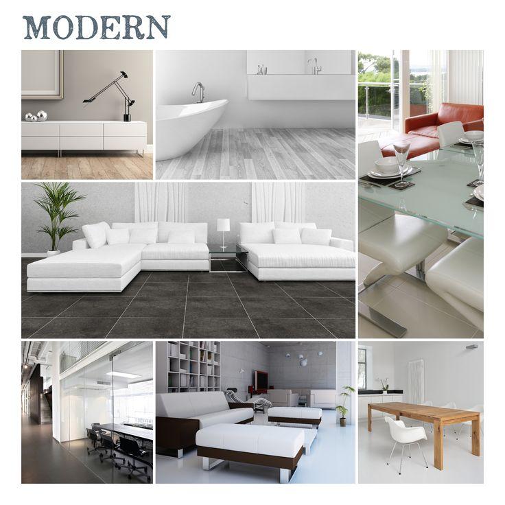 Moderne PVC vloeren maken jouw moderne interieur  Glanzend RVS en leer in combinatie met strakke, rechte lijnen en veel zwart, wit en grijs. Herkenbaar? Dit zijn de meest genoemde kenmerken van een modern interieur en dit past perfect bij onze moderne PVC vloeren. In deze cleane woonstijl wordt veel gebruik gemaakt van luxe materialen als chroom, eiken en natuursteen. Van een modern interieur wordt veelal 'less is more' gezegd en daarom wordt er gebruik gemaakt van gladde materialen als…