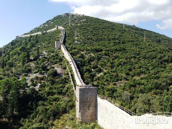 """Pri Dubrovníku nájdete """"dvojča"""" veľkého čínskeho múru"""