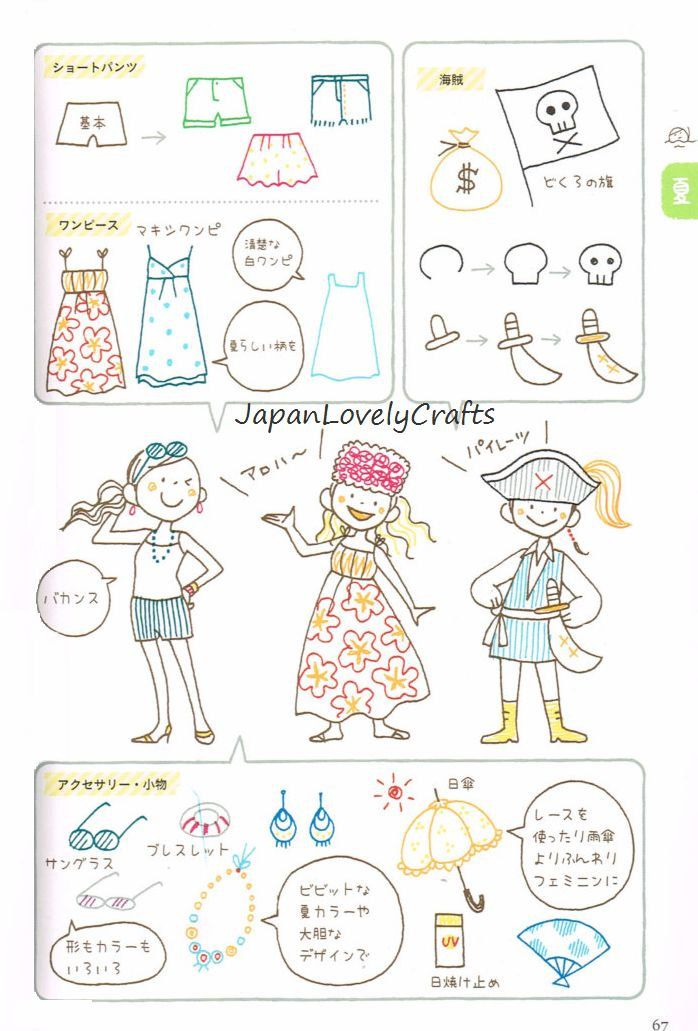 Seasonal Illustration Kamo Japanese Drawing Pattern Book