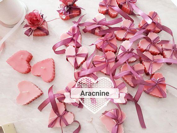 Candele A Forma Di Cuore Colorate E Profumate A Forma Cuore Cera Rosa Bomboniere Matrimoni Cresime Comunioni Diptyque Fruit Dragon Fruit