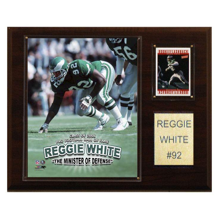 NFL 12 x 15 in. Reggie White Philadelphia Eagles Player Plaque - 1215RWHIPH
