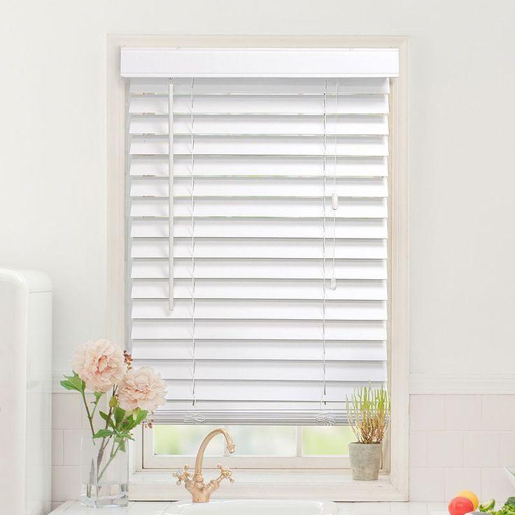Faux Wood Windows : Best ideas about faux wood blinds on pinterest