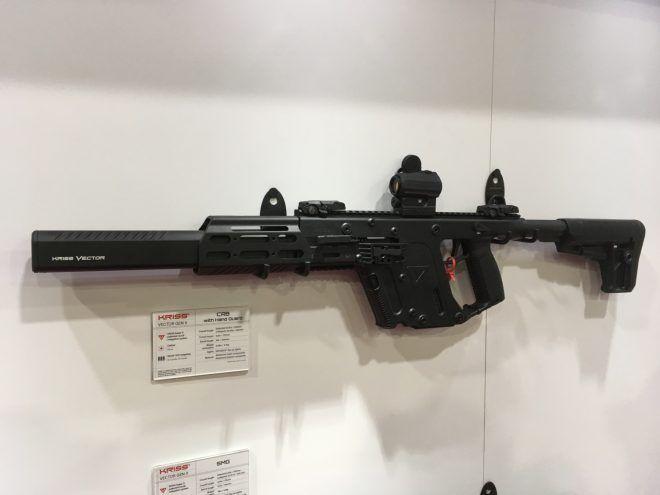 KRISS Vector Extended Handguard & Caliber Conversions | NRA 17 - The Firearm BlogThe Firearm Blog