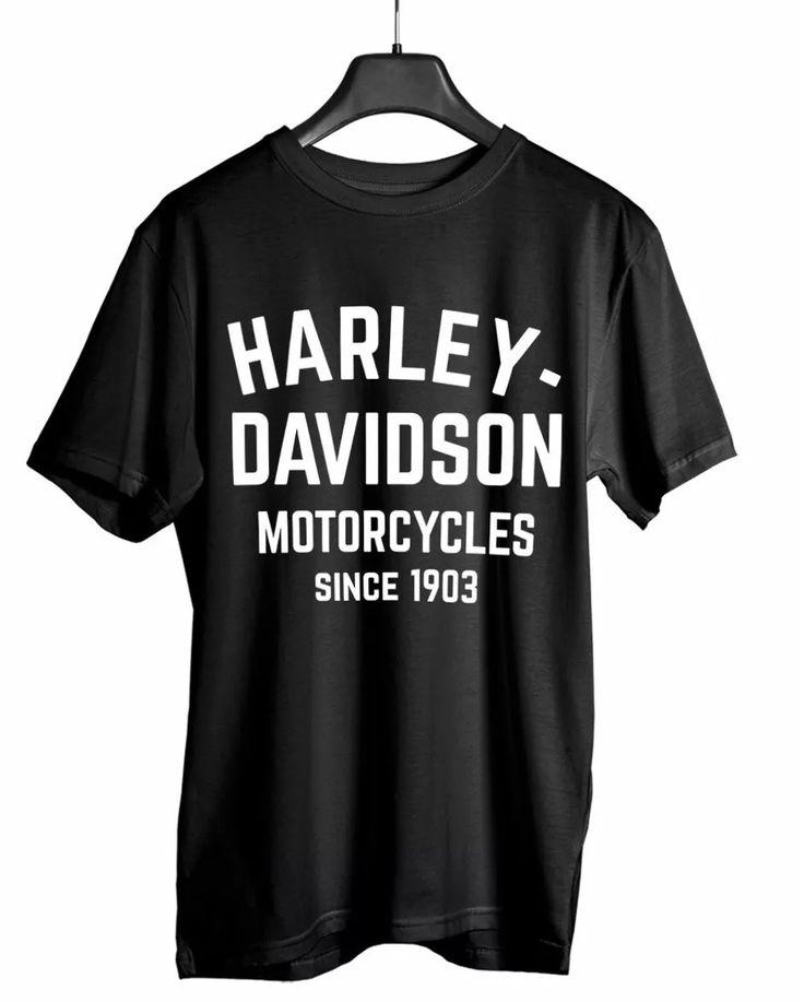 Camiseta Harley Davidson Moto Cycles Camisa Masculina Algodão 10 ud. na Promoção - Loja online da Saara Brasil - Compre sempre mais barato!