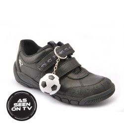 Hat-Trick, Black Leather Boys Riptape School Shoes http://www.startriteshoes.com/school-shoes/