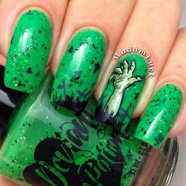 HALLOWEEN  by madamluck  #nail #nails #nailart