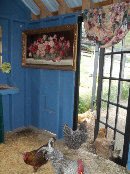 Chicken coop inspiring customer reuse pinterest for Fancy chicken coops for sale