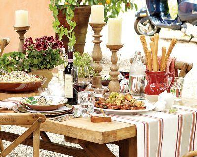 tuscan inspired dinner