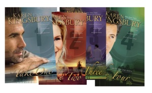 Above the Line Series by Karen Kingsbury
